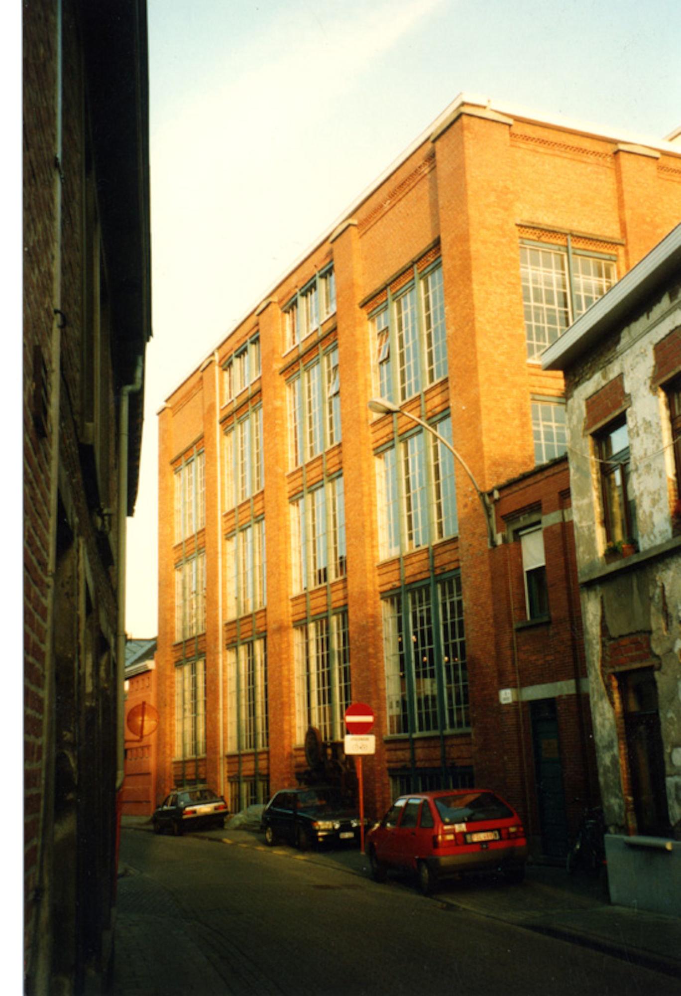 Industriemuseum, gelegen tussen Oudevest en Minnemeers, Gent