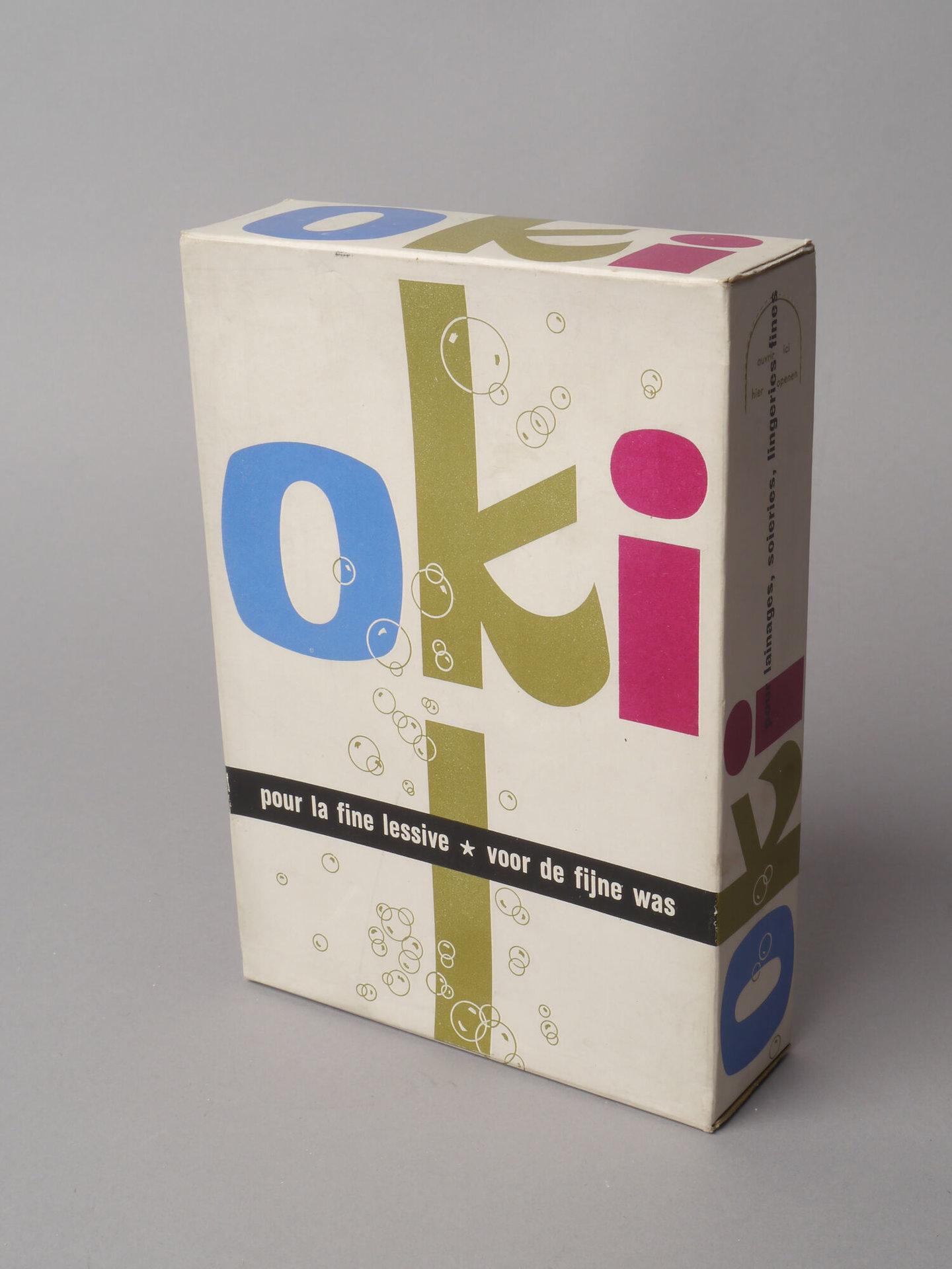 Doos waspoeder van het merk Oki