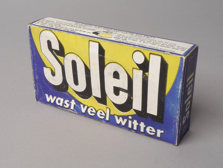 Doos waspoeder van het merk Soleil