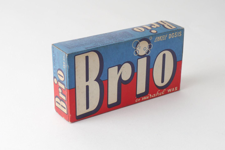Doos waspoeder van het merk Brio
