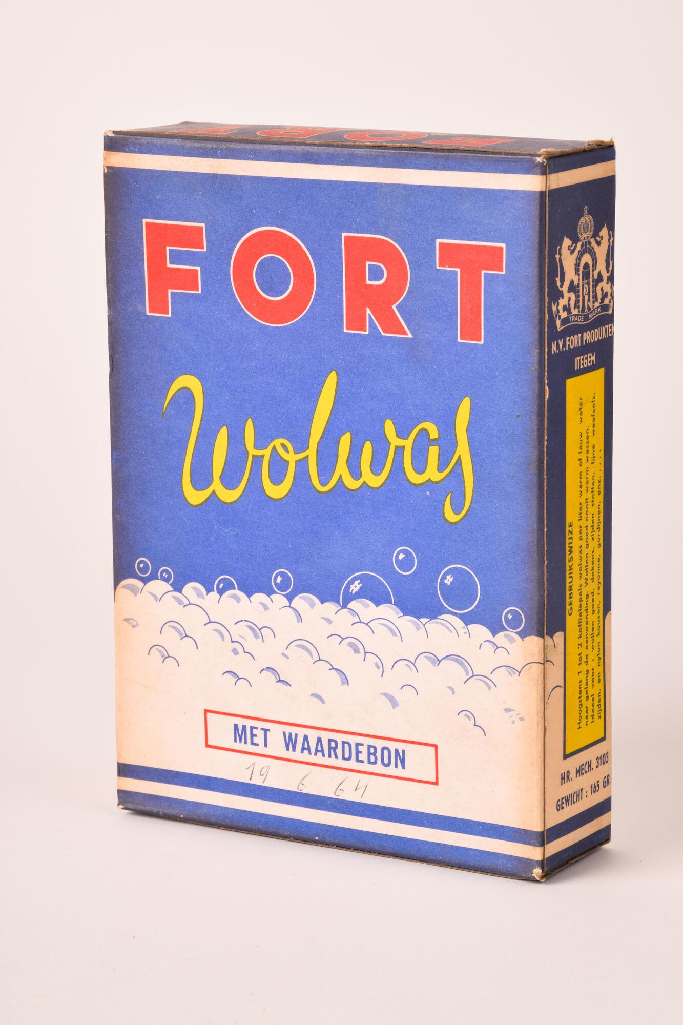 Doos waspoeder van het merk Fort