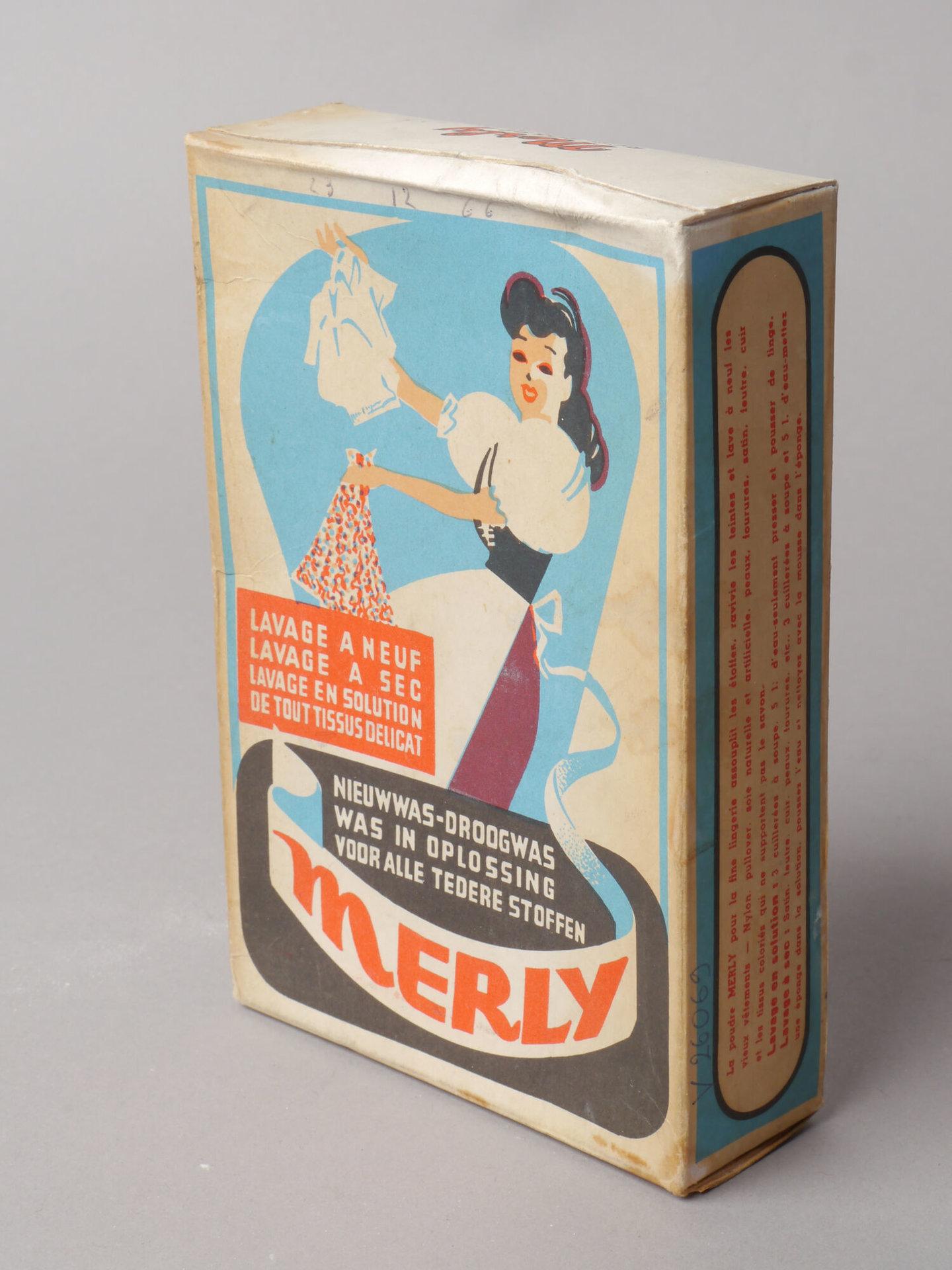 Doos waspoeder van het merk Merly