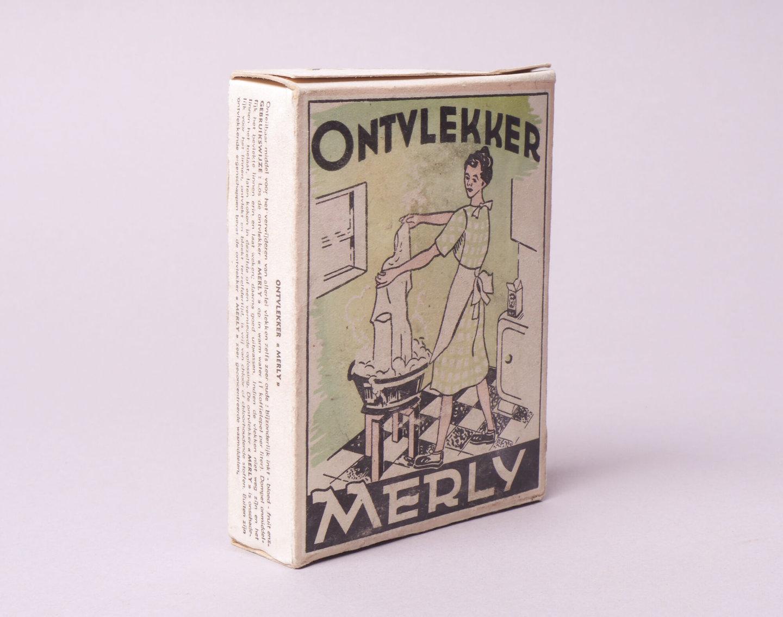Doos ontvlekker van het merk Merly