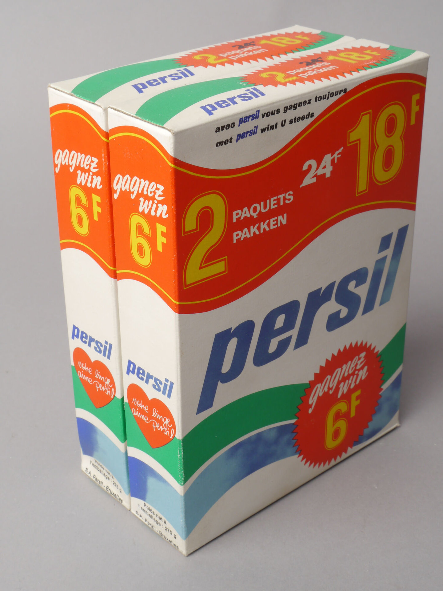 Doos waspoeder van het merk Persil