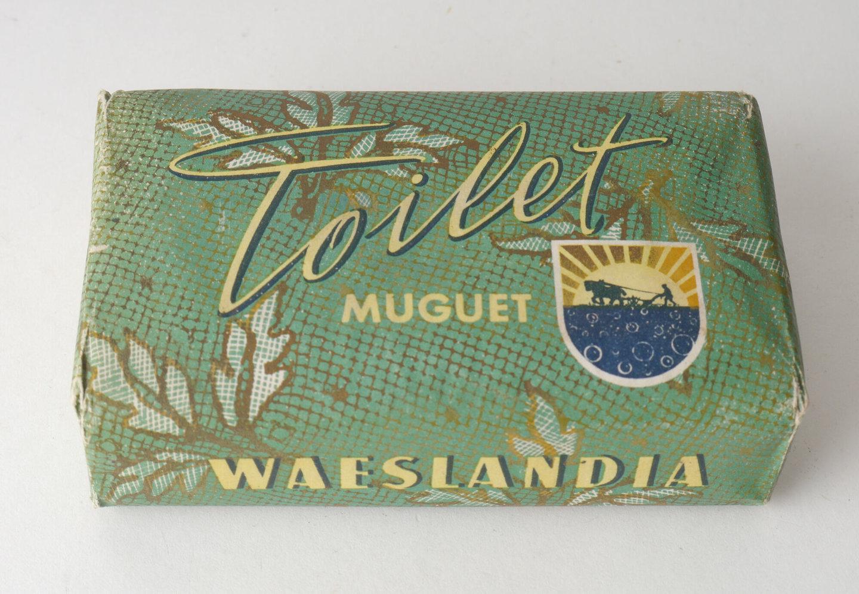 Toiletzeep van het merk Waeslandia