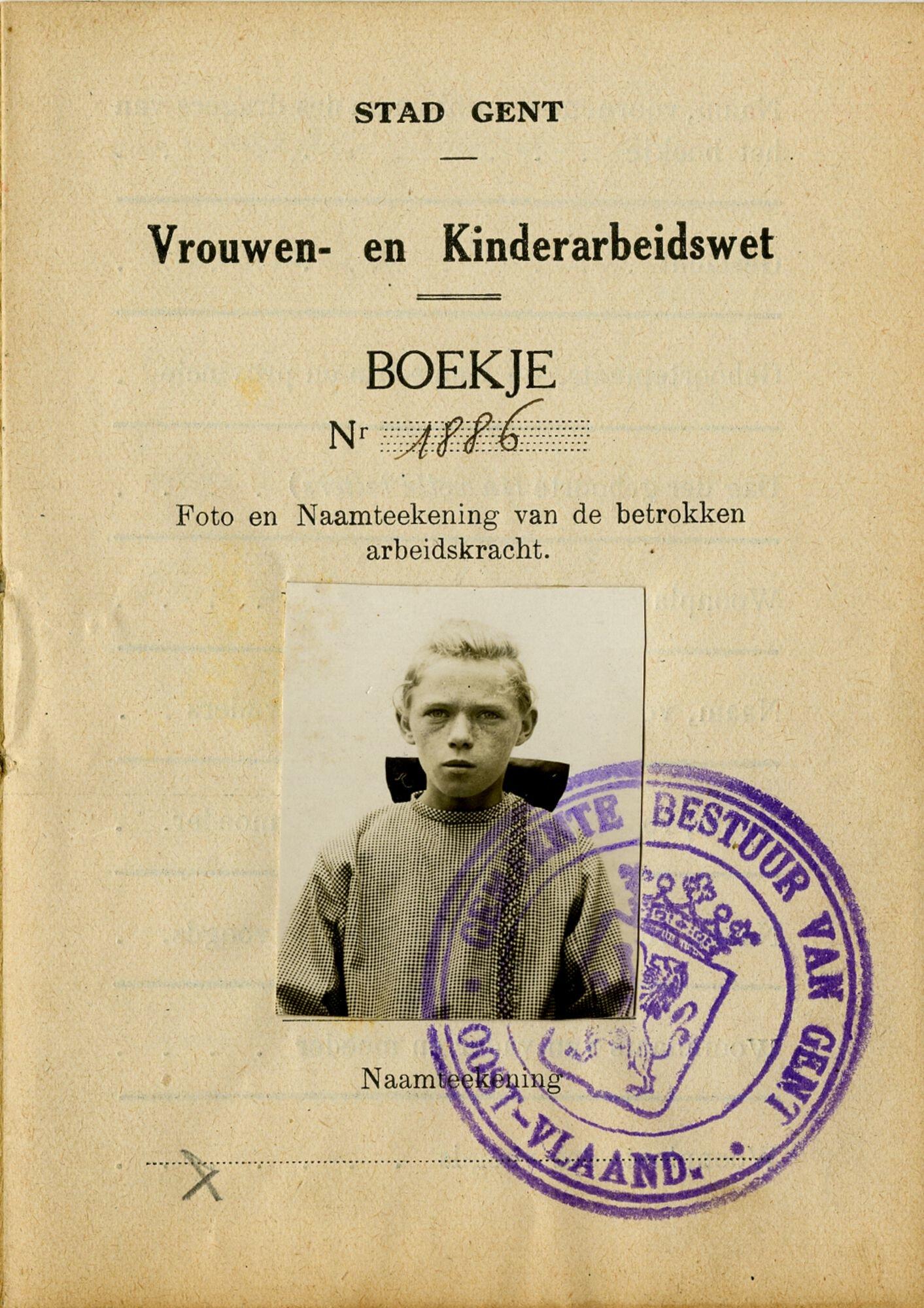 Wetboekje van Clara Ida Backe