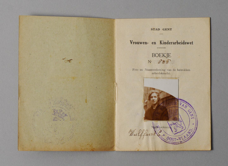 Wetboekje van  Elza Wulffaert