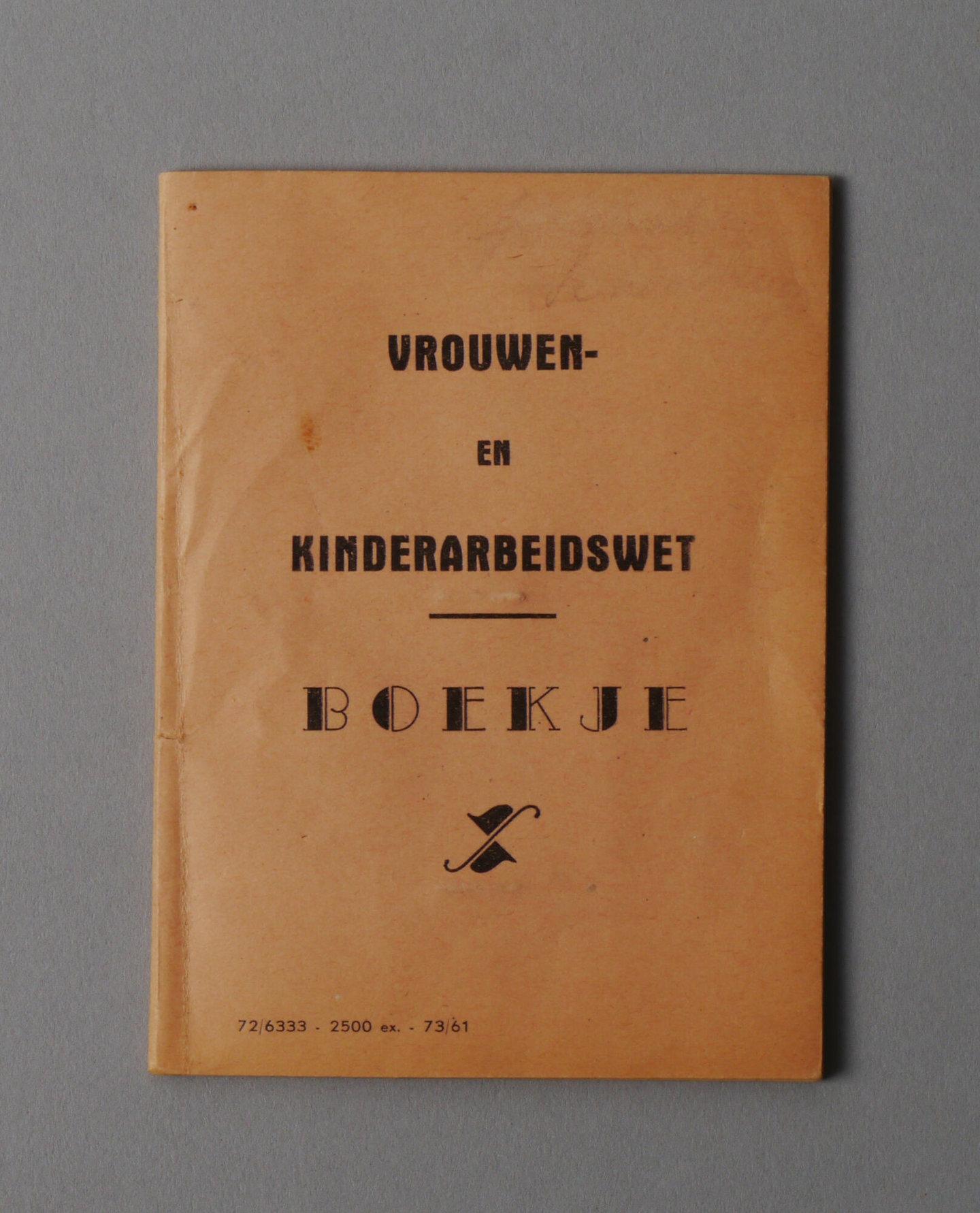 Wetboekje van Maria Van Deynse
