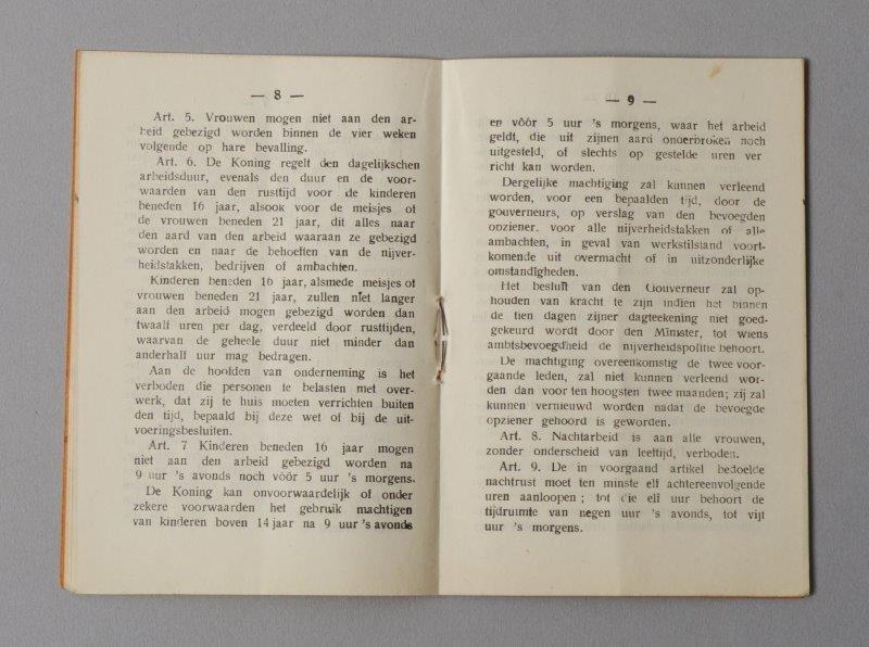 Wetboekje van Georges De Wilde