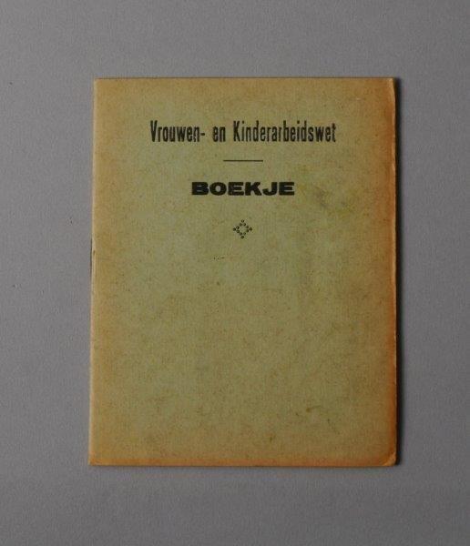 Wetboekje van Louise Marie Backe
