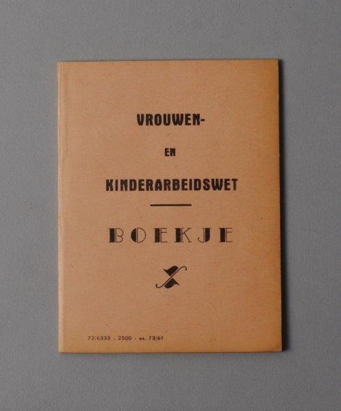 Wetboekje van Adrienne De Munter