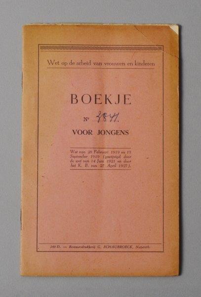 Wetboekje van René-Antoine De Muer