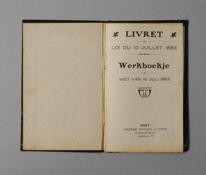 Werkboekje van Ivo Deruelle