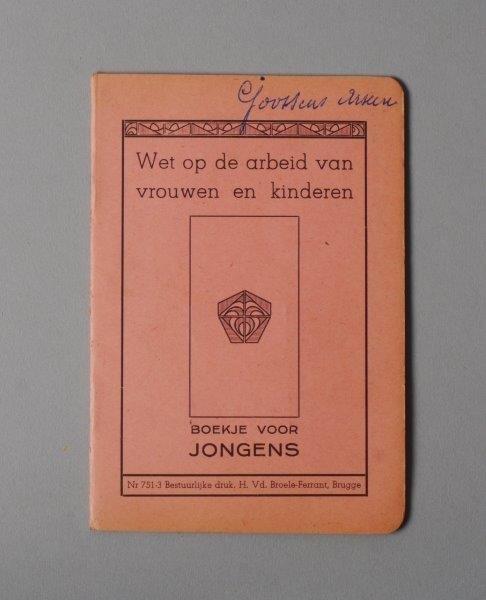 Wetboekje van Arseen Juliaan Goossens