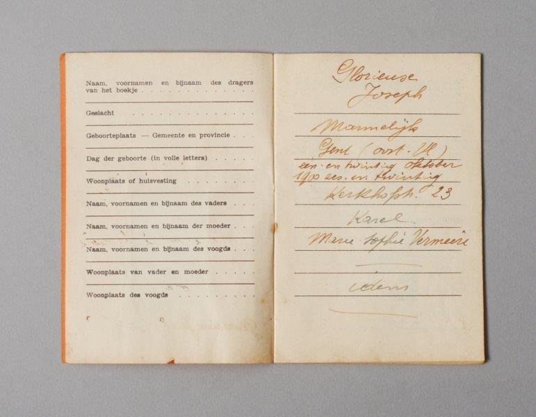 Wetboekje van Joseph Glorieux
