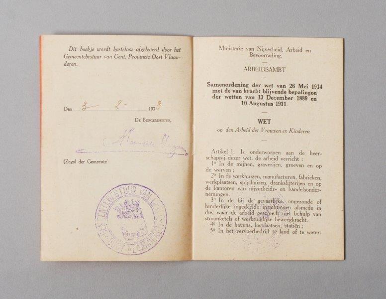 Wetboekje van Frans D'hooghe