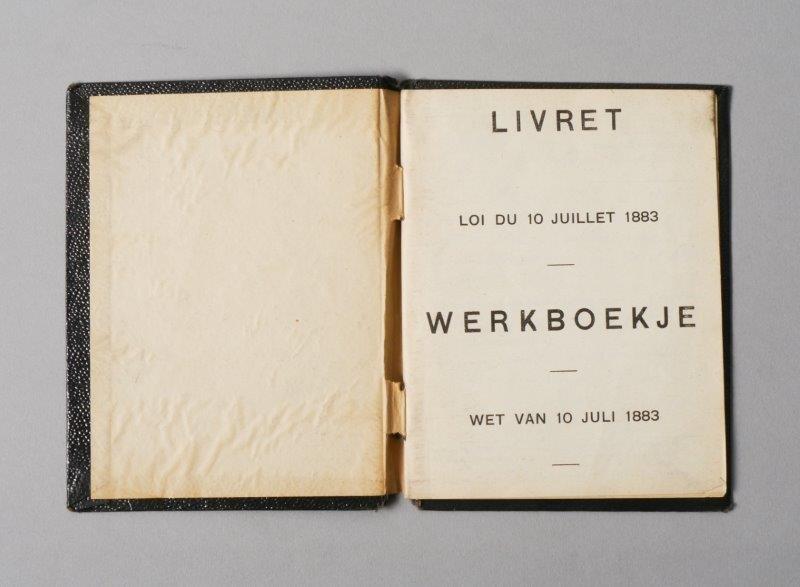 Werkboekje van Maurice De Vriese