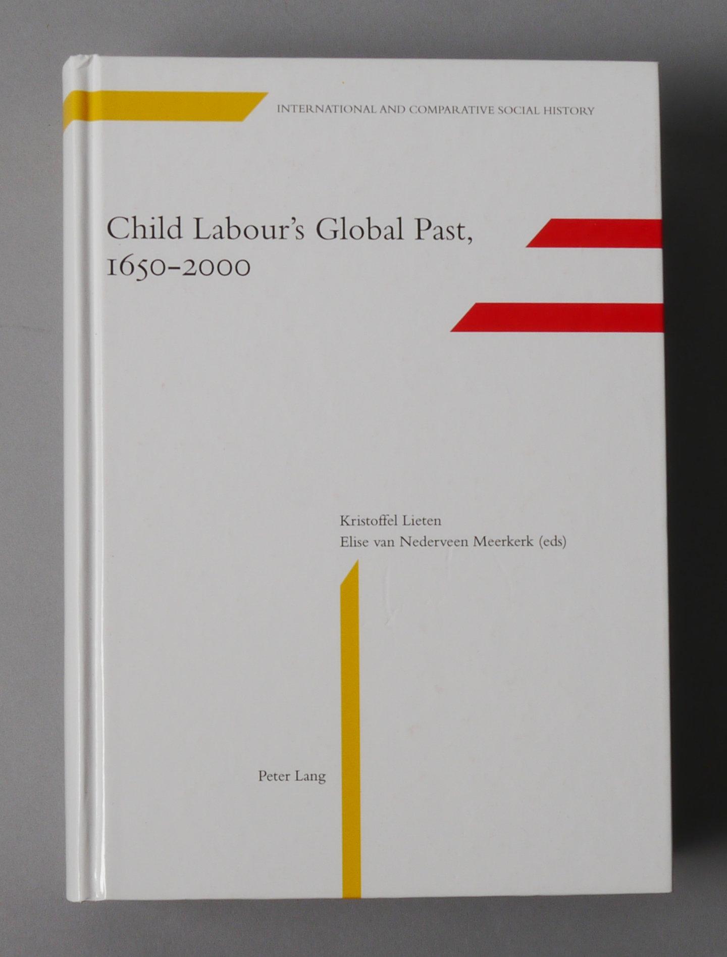 Child Labour's Global Past 1650-2000.