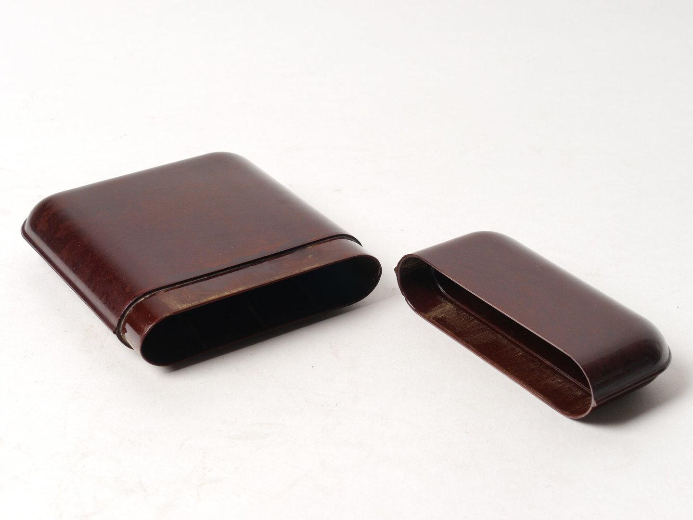 Rechthoekige sigarendoos met afneembaar deksel