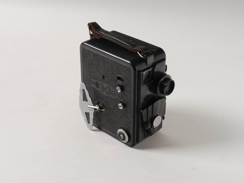 Filmcamera van het merk Dekko