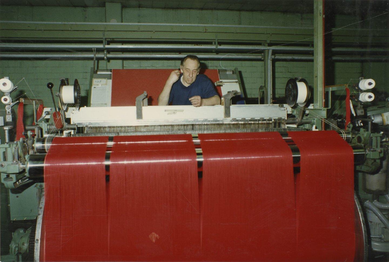 Binnenzicht textielfabriek UCO Braun in Gent